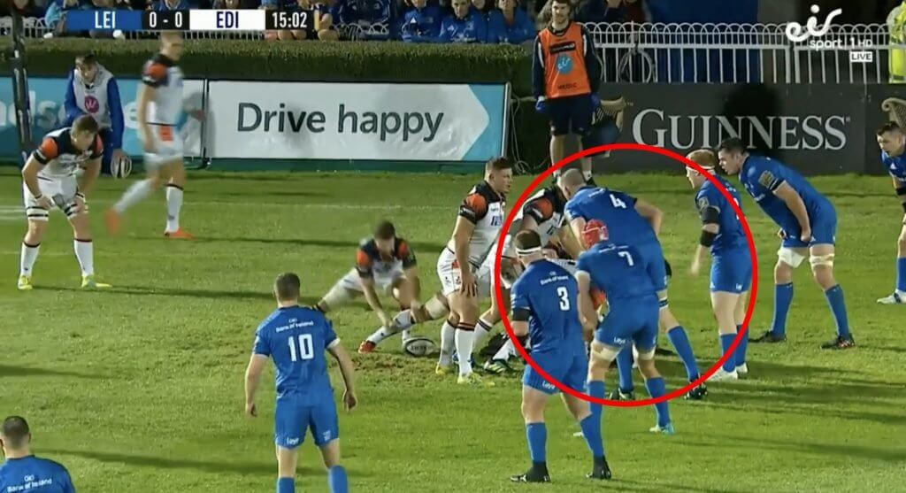 WATCH: Devin Toner reveals his inner swan with incredulous block for Leinster try