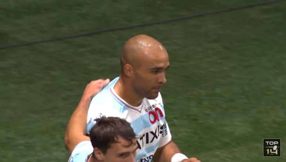 VIDEO: Simon Zebo looks sad after scoring his first Top 14 try for Racing 92