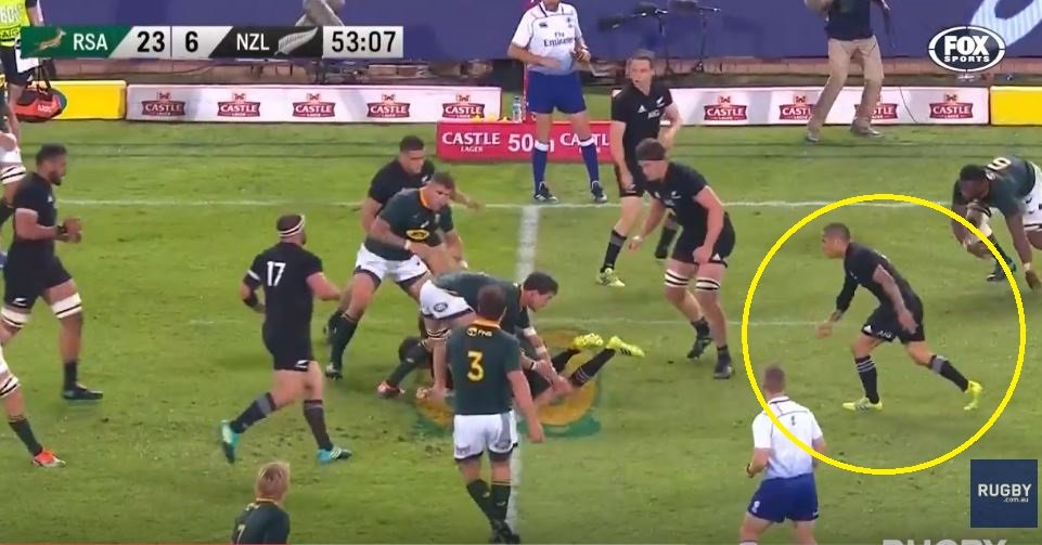 FOOTAGE: Irrefutable evidence that Aaron Smith's criticial try was illegal