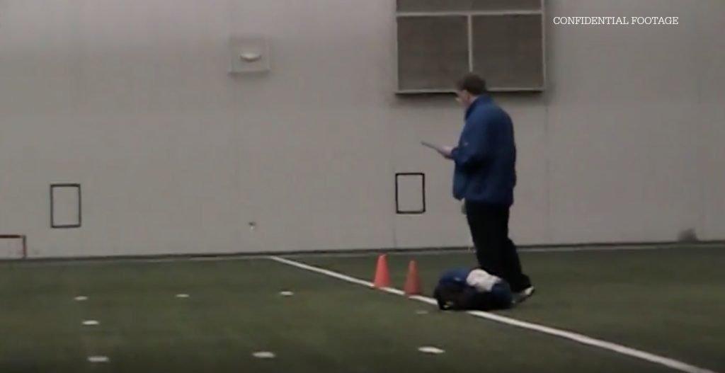 LEAKED: Footage emerges of Dan Carter's 40 yard dash as star seeks NFL kicking contract