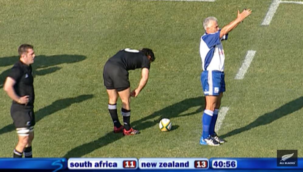 WATCH: Dan Carter's massive 67 metre penalty kick back in 2006