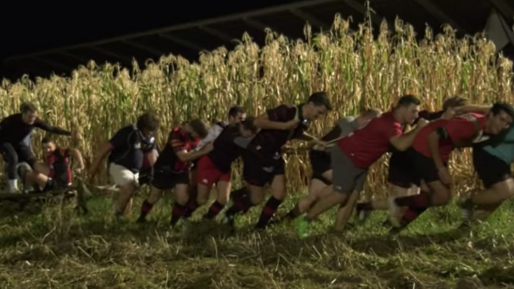 WATCH: Rugby club turns to farming to help with team fitness