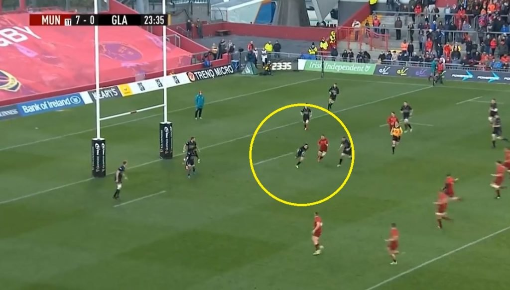 VIDEO: Glasgow Warriors have scored another immense counterattacking try