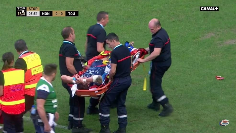 FOOTAGE: Springbok Montpellier paid €1.4million for suffers horrible season ending injury