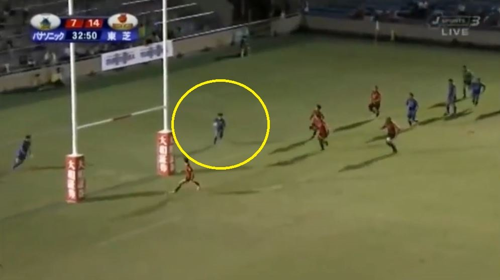 FOOTAGE: Witness the 'World Class' Japanese player that has left Carter and Giteau in his wake