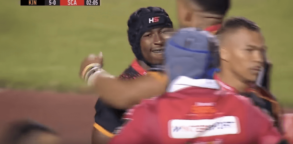 WATCH: Southern Kings full back HUMILIATES four Scarlets defenders on his way to brilliant try