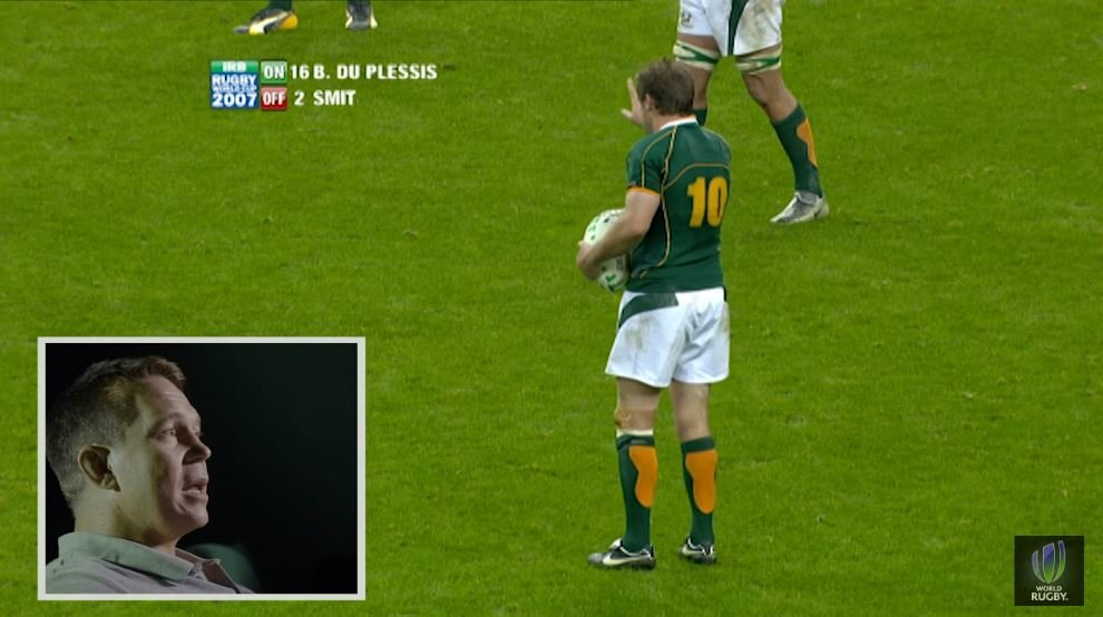 John Smit watches the 2007 RWC Final for the first time and it's an epic watch