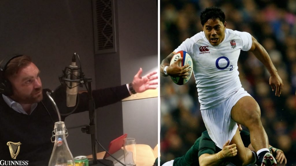 THE RUGBY POD: Andy Goode & Jim Hamilton believe that Manu Tuilagi must start for England in the Autumn