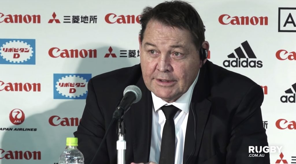 WATCH: Steve Hansen absolutely BUTCHERS the Irish accent after being asked Conor Murray question