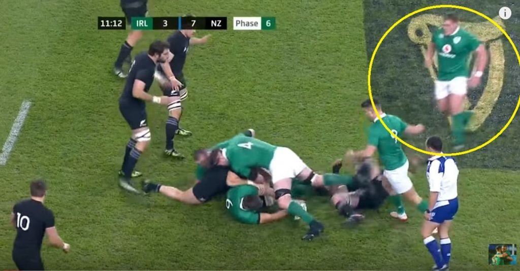 FOOTAGE: This is what happened last time Tadhg Furlong played the All Blacks