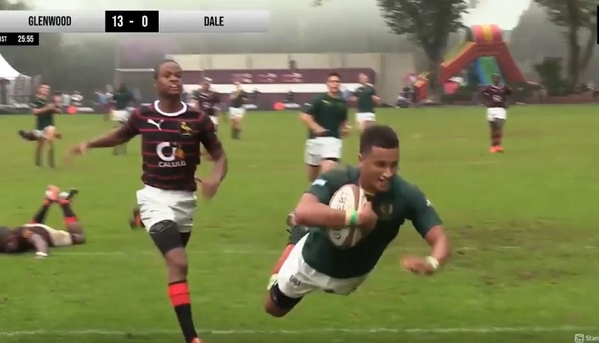 Is this the best try scored in South African schoolboy rugby this season?