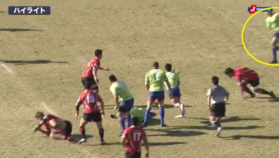 FOOTAGE: 34-year-old All Black rolls back the years to score 65 metre in Japan