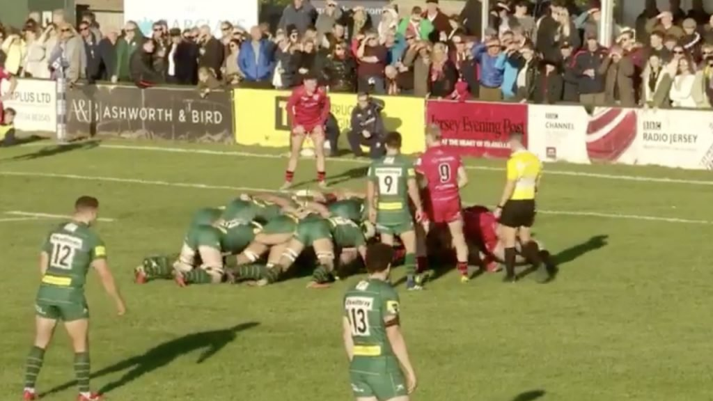WATCH: Jersey have just possibly scored the best try of the season
