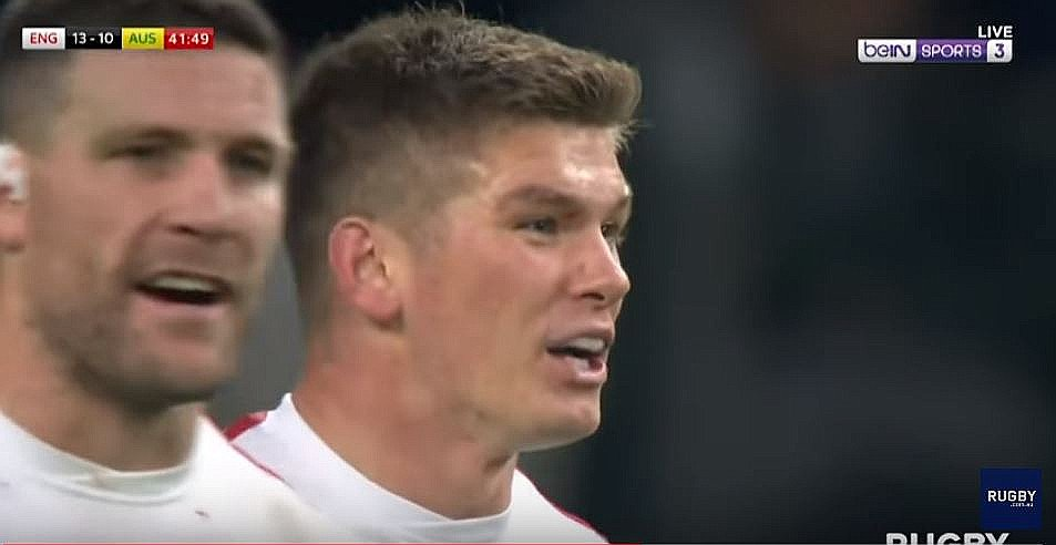 FOOTAGE: Replay video shows that Owen Farrell's tackle was in fact legal