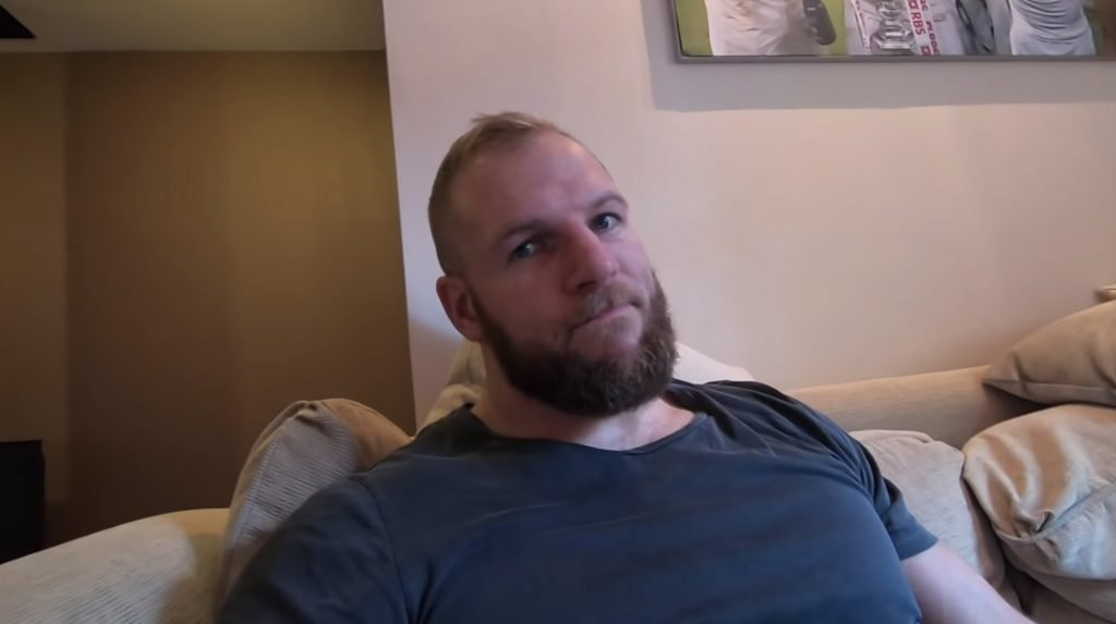 VIDEO: James Haskell's new YouTube VLOG reveals a great deal about daily life as a rugby player
