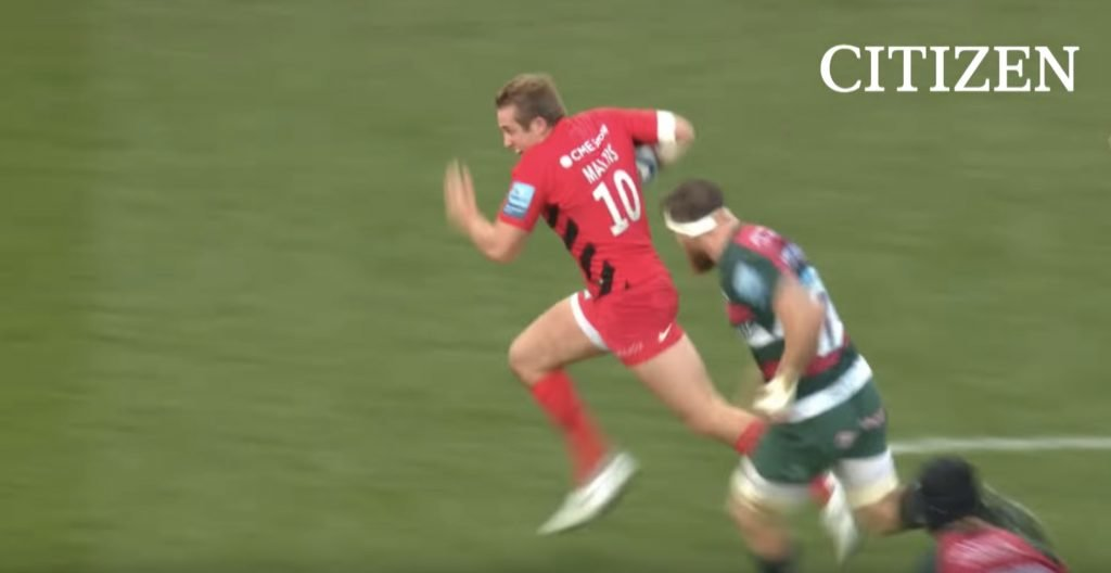 WATCH: 21-year-old Saracens fly half shoves his name in spotlight with spectacular assist