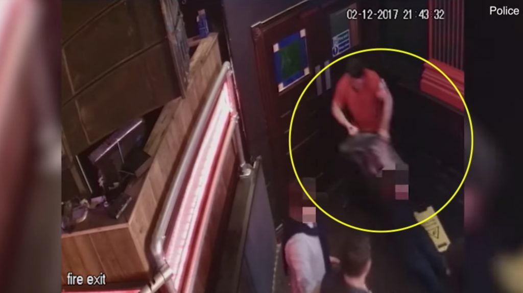 FOOTAGE: CCTV visuals show Shane Williams' attack in Cardiff bar