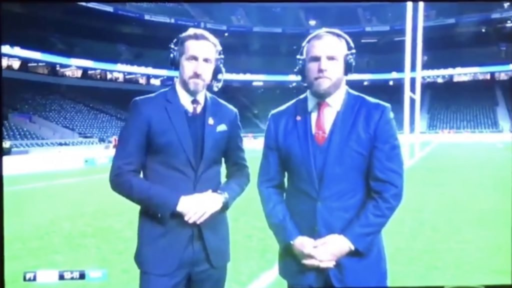 VIDEO: James Haskell appears to be drunk in post match analysis interview