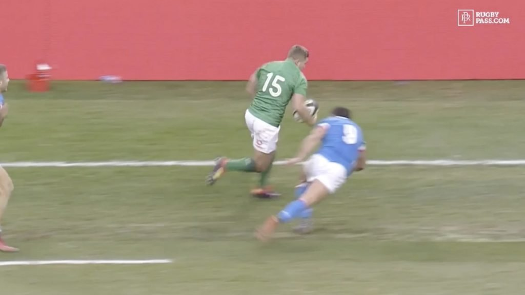 WATCH: Jordan Larmour's footwork in this video is so good I don't think it's real