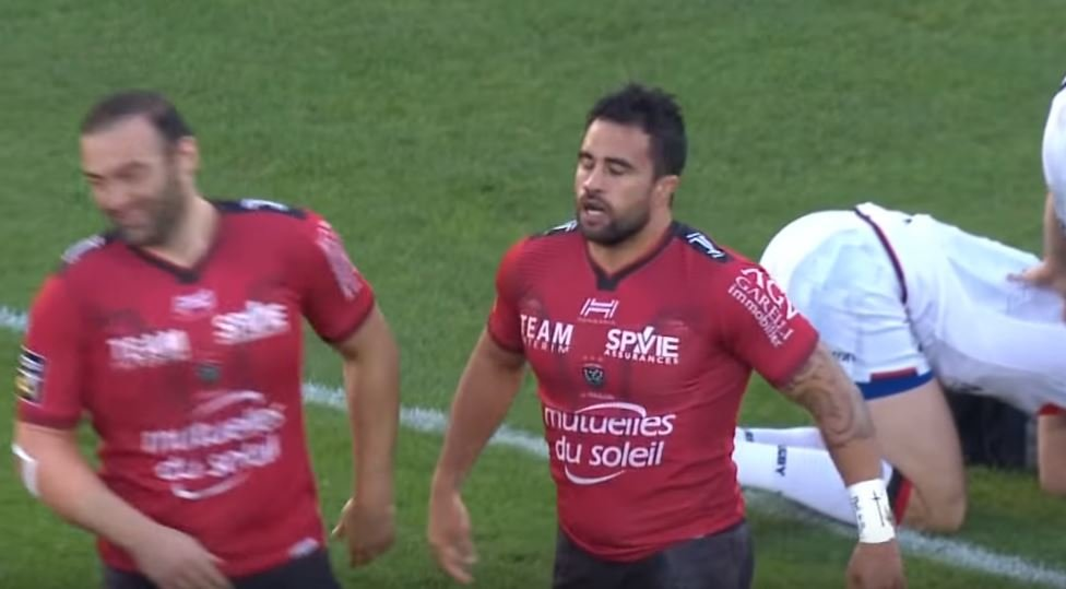 FOOTAGE: Liam Messam scores freakish '5 point' penalty for Toulon