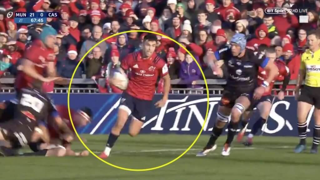 VIDEO: Conor Murray reminds everyone why he is the best in the world with UNREAL back-hand pass