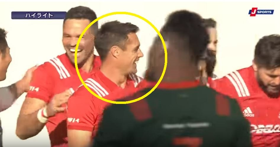 LEAKED: Dan Carter goes from hero to zero to hero in the space of minutes in Top League semi
