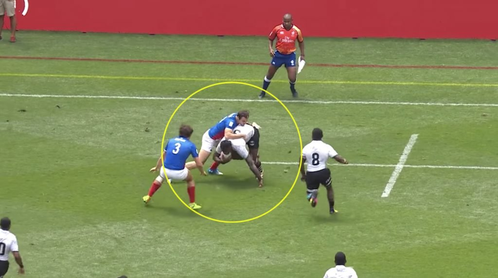 WATCH: An offload pass that's only possible if you're FIJIAN