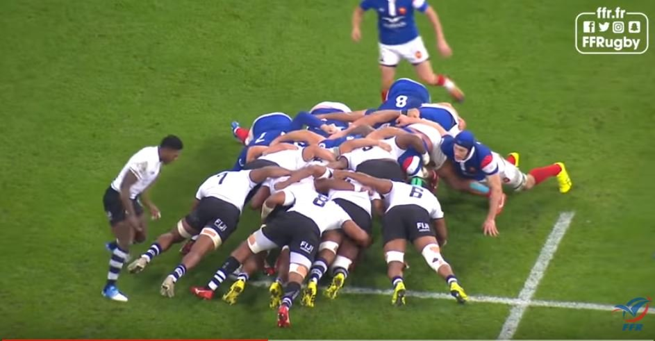 FOOTAGE: The superb Fiji set piece move that lead to Tuisova's try against France