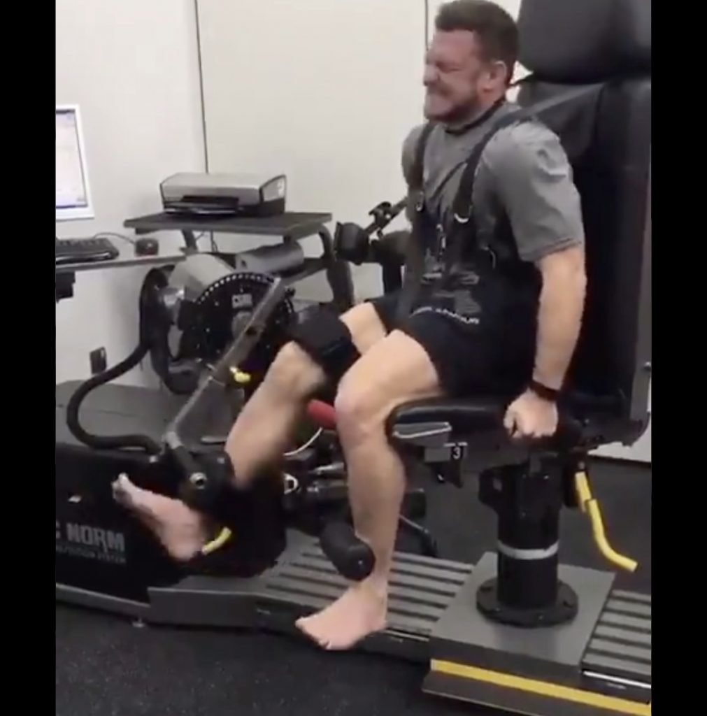 WATCH: Jimmy Gopperth's post-ACL leg exercise attempt is the most painful thing you'll see all day