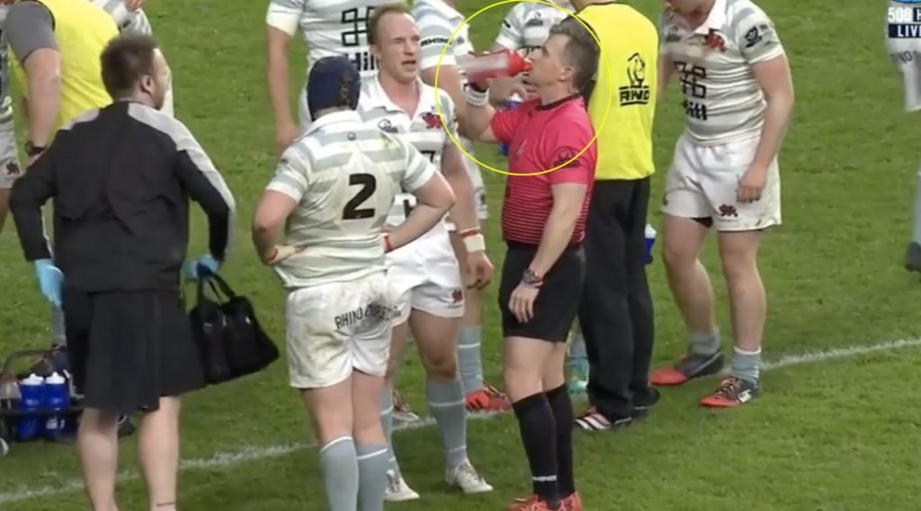 WATCH: Nigel Owens' banter with Varsity team is the reason why he's the best in the world