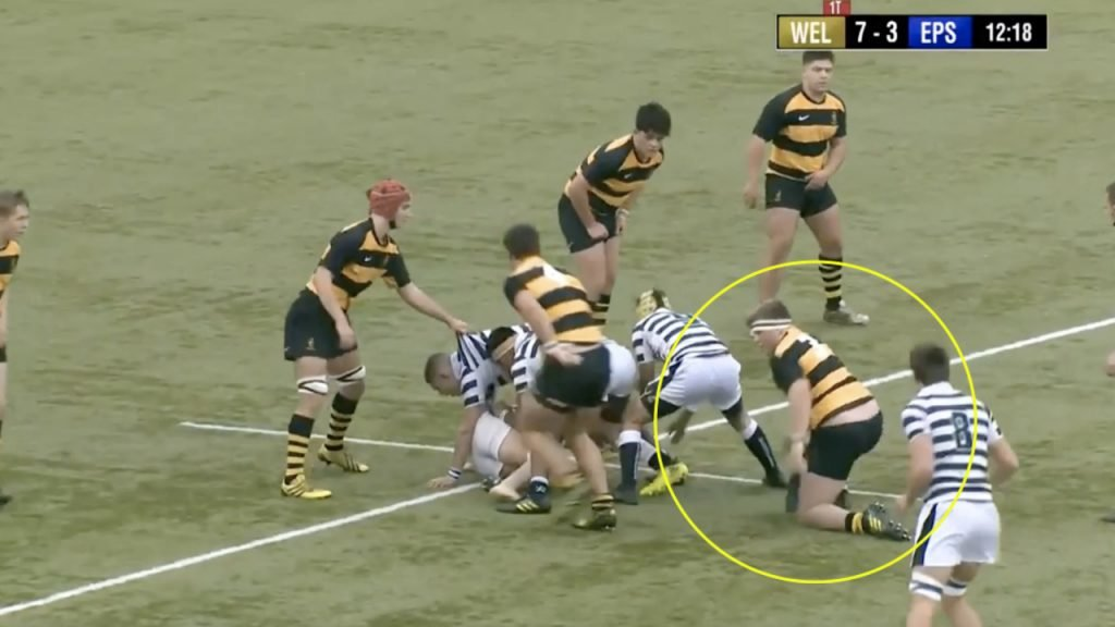 FOOTAGE: Moving footage has emerged of a young man taking his first steps into PROP LIFE