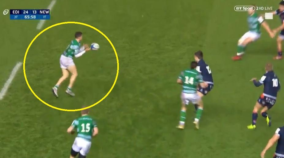 FOOTAGE: This is what explosive acceleration looks like on a rugby pitch