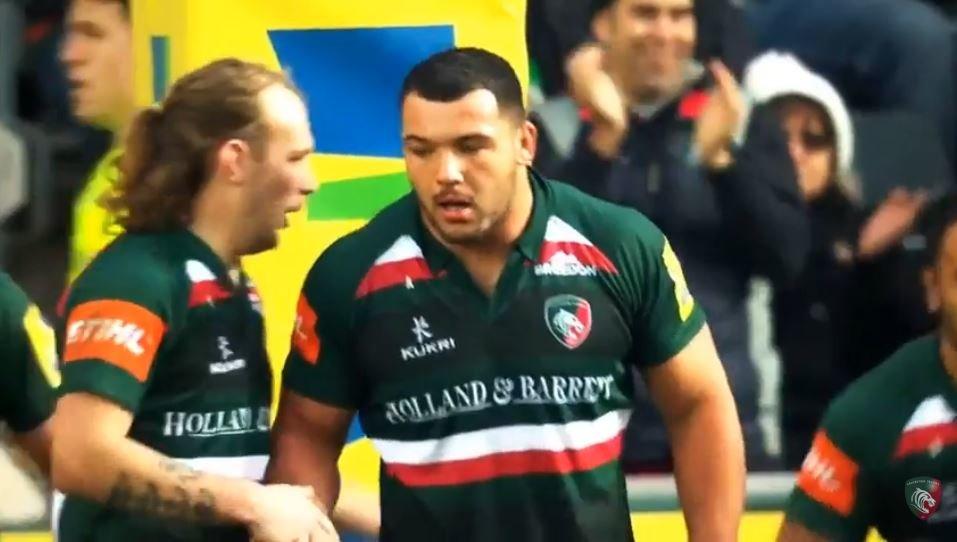 VIDEO: Ellis 'The Baby Rhino' Genge is back