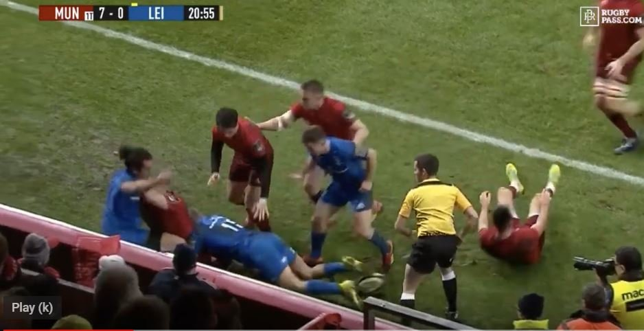 WATCH: Sexton saves Carbery from brawl by throwing him to safety