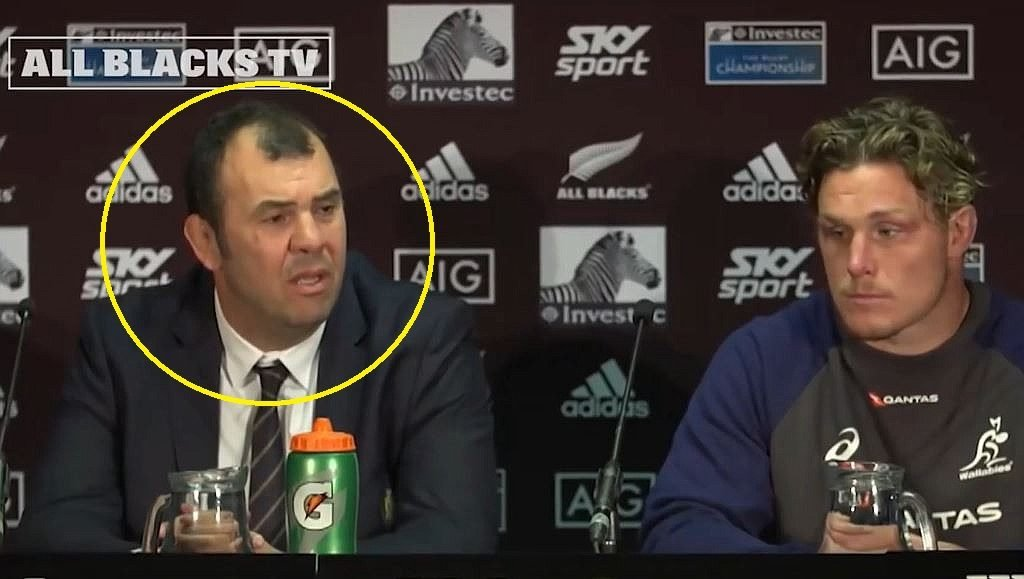 SUPERCUT: The Michael Cheika 'freaking out' at reporters video that is decimating the internet