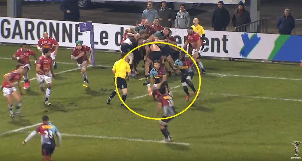 VIDEO: Danny Care's disgusting chip proves Eddie was mad to leave him out of Six Nations squad