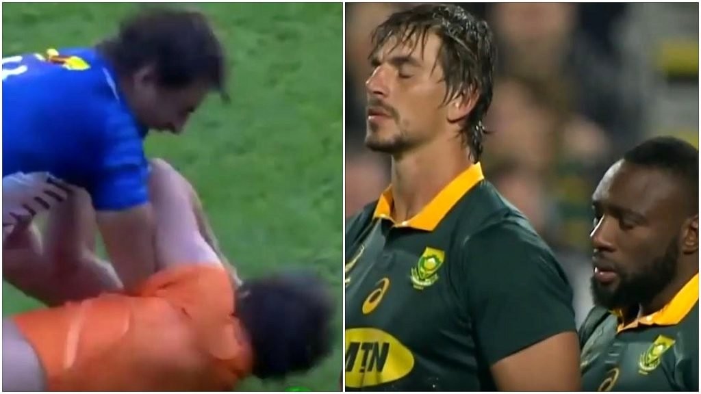 WATCH: Destructive new Etzebeth 'Taking Names' video will give hope to all Bok fans