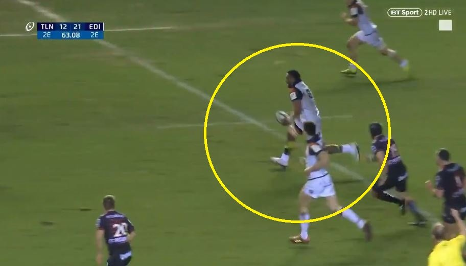 Fijian No.8's offload is systematically tearing the internet apart