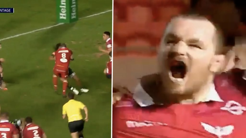 WATCH: Hooker Ken Owens proves Front Row Club is LIFE after scoring wonder try in Number 8 shirt