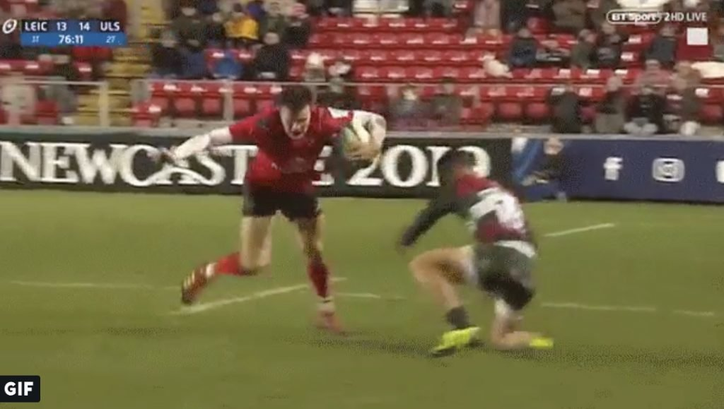 WATCH: Short Jacob Stockdale clip will give Jonny May nightmares for months
