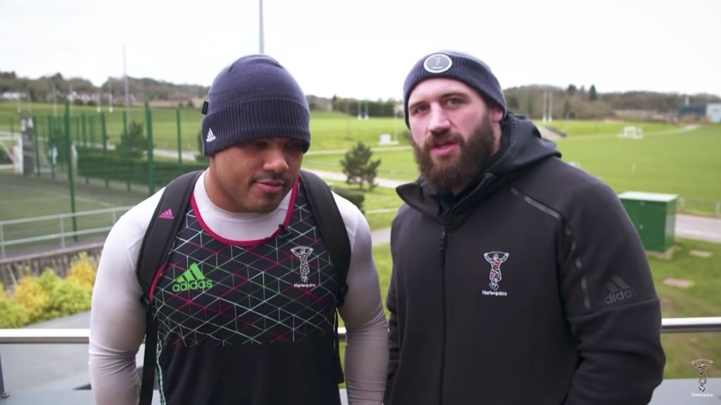 VIDEO: Kyle Sinckler and Joe Marler give rare insight into the kind of banter that Props enjoy