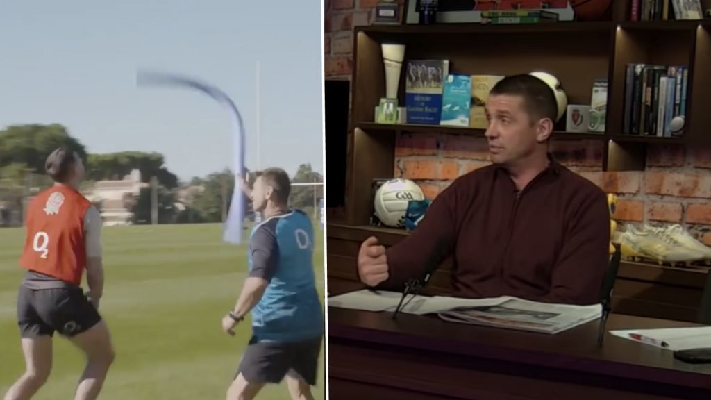 WATCH: Alan Quinlan thinks that England's training drill is insulting towards Ireland
