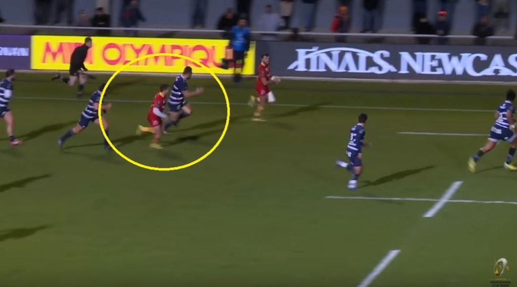 FOOTAGE: Paddy Jackson's positional switch reaps devastating rewards for Perpignan