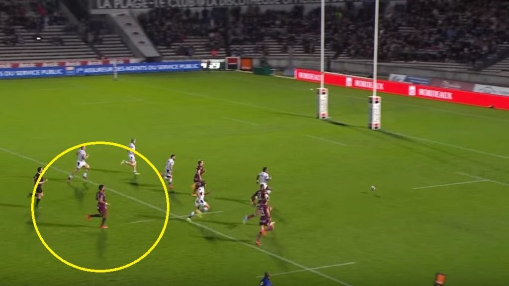 VIDEO: Forgotten Fijian born 104kg All Black midfielder scores after first smashing a man
