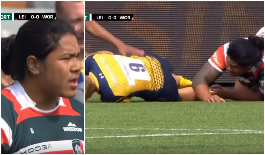 FOOTAGE: Rugby's fastest yellow cards video has premature ejac****ion problems