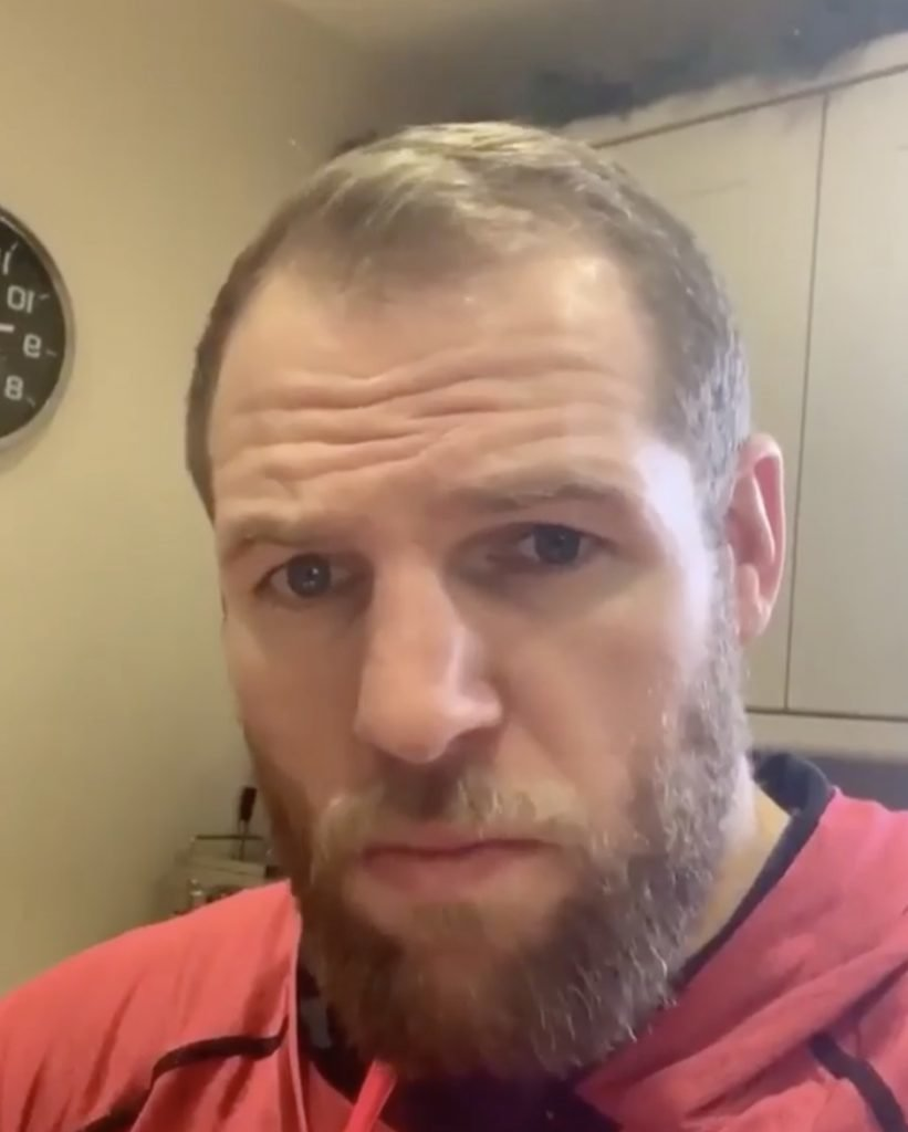 WATCH: James Haskell has some frank advice for schoolboys who want to go professional