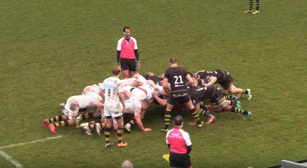 FOOTAGE: England's secret tighthead weapon whose destructive scrummaging can no longer be ignored