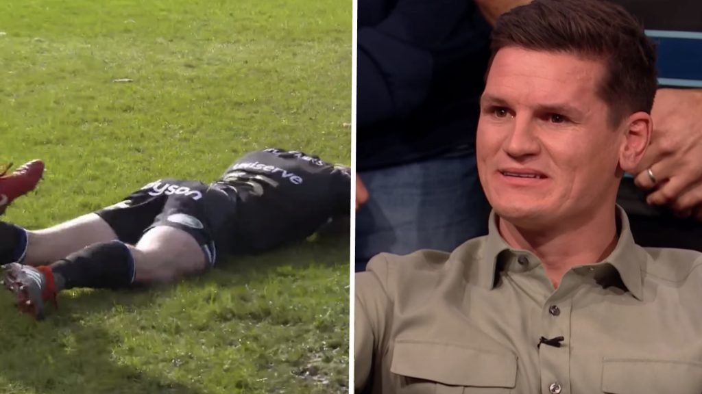 VIDEO: Freddie Burns watches THAT drop he made for the first time in front of a studio audience