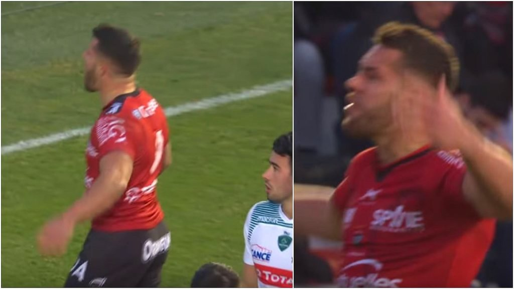 FOOTAGE: Rhys Webb explodes at Toulon crowd after proving point only he could possibly understand