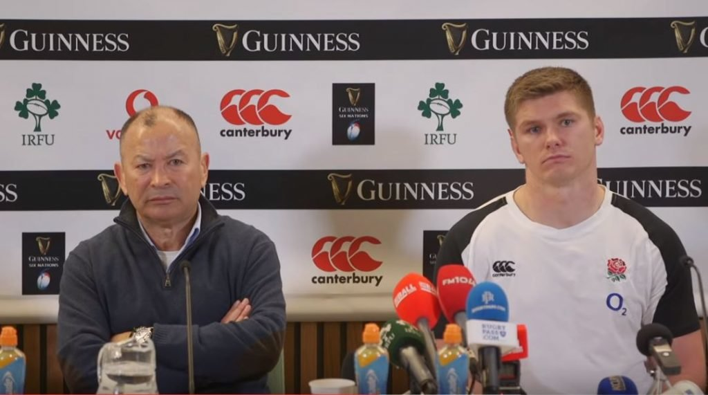 FOOTAGE: Noble Eddie Jones' barely contains smugness in press conference - it's a lesson in restraint